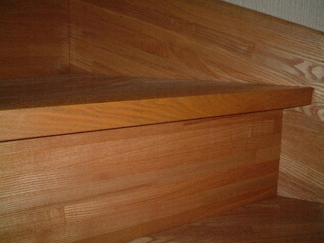 階段の損傷の補修