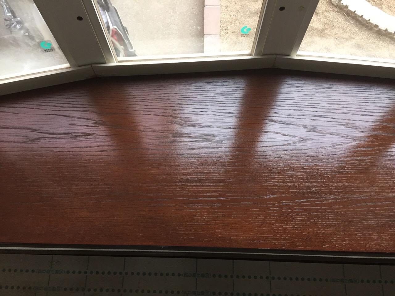木製出窓の補修